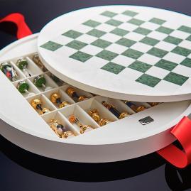 Golf Chess Set by Agresti