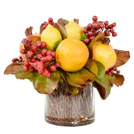 Lush Fruit Harvest Centerpiece