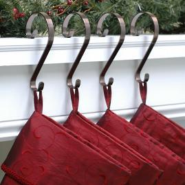 Stocking Scrolls, Set of Four