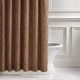 Tabby Copper Shower Curtain
