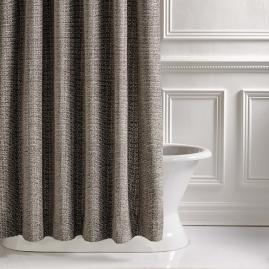 Murano Taupe Shower Curtain