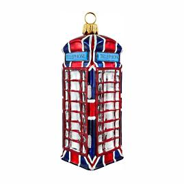 British Phone Ornament