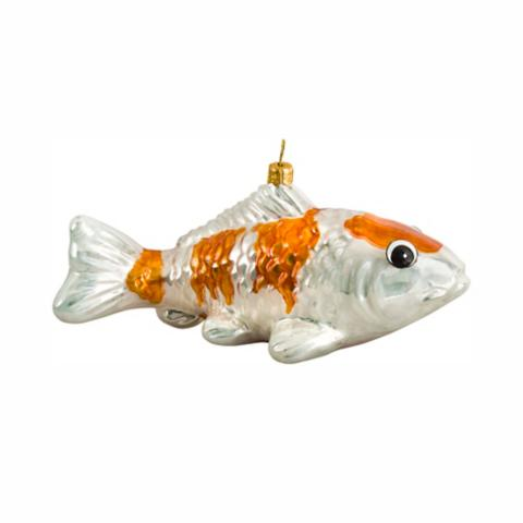 Koi fish kohaju ornament frontgate for Koi fish ornament