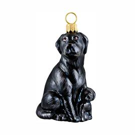 Lab Mother with Puppy Ornament