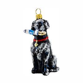 Labrador Retriever With Buoy Ornament