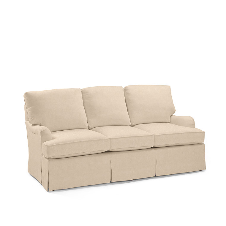 Down Wrapped Roll Arm Sofa Frontgate
