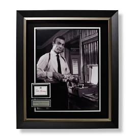 """Shaken, Not Stirred"" James Bond Autographed"