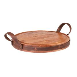 Heritage Viande Board with Leather Handles