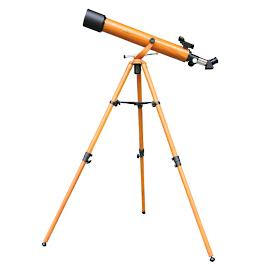 Galileo Wood Grain Refractor Telescope