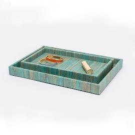 Bali Rectangular Nested Tray Set by Pigeon &