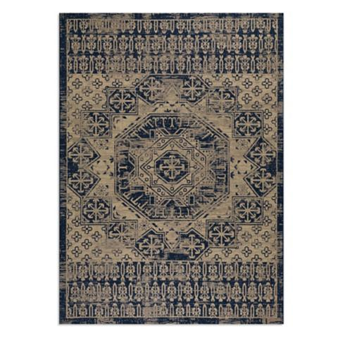 Batik Medallion Indoor/Outdoor Rug | Frontgate