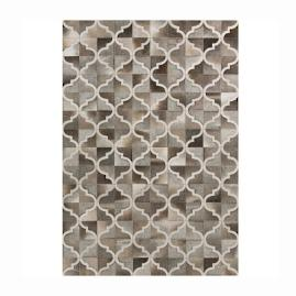 Trellis Hair on Hide Area Rug