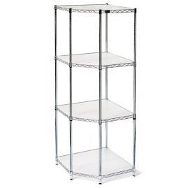 Four-Tier Corner Shelf & Liners