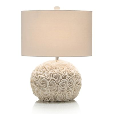 Pale Rosette Table Lamp Frontgate