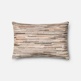 Gia Hide Decorative Lumbar Pillow