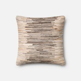 Gia Hide Decorative Pillow