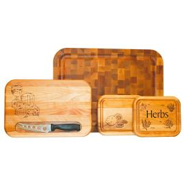 Multi Purpose Cutting Board Gift Set