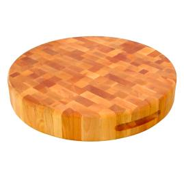 End Grain Round Board