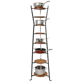 Enclume Flare Cookware Stand with Shelves
