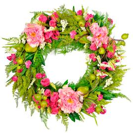 Fruit and Floral Wreath