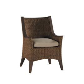 Royan Dining Arm Chair with Cushion by Summer