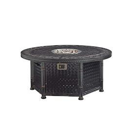 Marimba Wicker Gas Fire Pit by Tommy Bahama