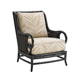 Marimba Wicker Lounge Chair with Cushions by Tommy
