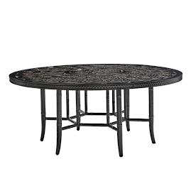 Marimba Round Dining Table by Tommy Bahama