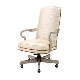 Hathaway Leather Desk Chair