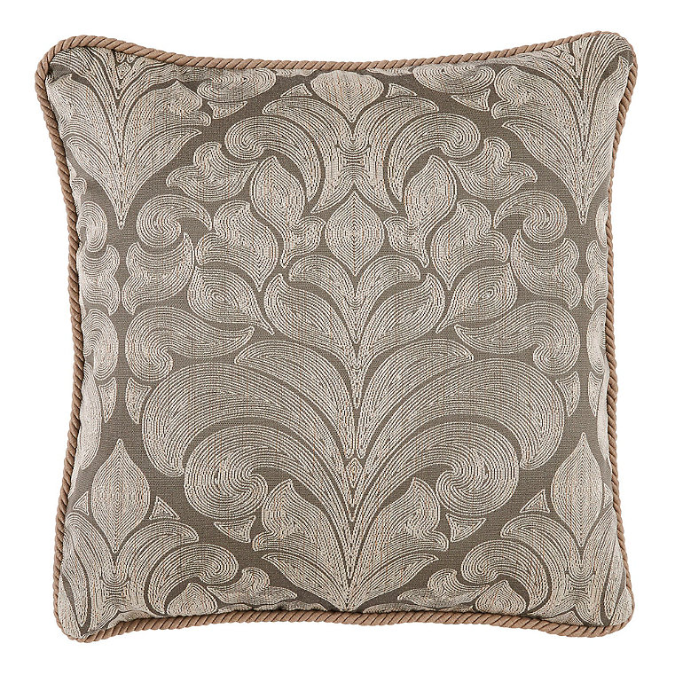 Decorative Down Pillows : Feather Down Rayon Decorative Pillow - Frontgate