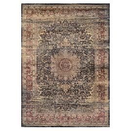 Grandison Medallion Easy Care Rug