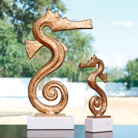 Sausalito Seahorse Sculpture