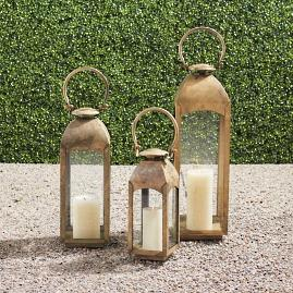 Capri Burnished Lanterns