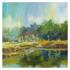 Lakeside Outdoor Canvas