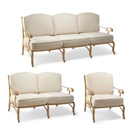 Orleans 3-pc. Sofa Set Cover