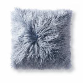 Tibetan Sheepskin Throw Pillow