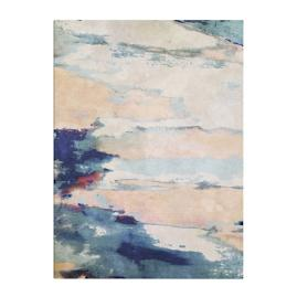 Watercolor Burst I Outdoor Canvas