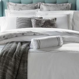 SFERRA Cade Pillowcases, Set of Two