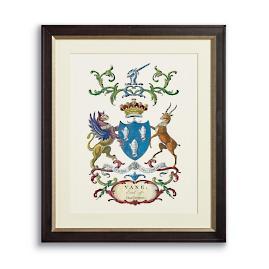 Crest Print III