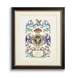 Crest Print IV