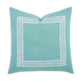 Breeze Aqua Decorative Pillow
