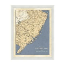 New Jersey Shore Frame