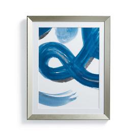 Silver Leafed Watercolor I Wall Art