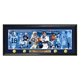 Peyton Manning Retirement Special Edition Panoramic Photo Mint