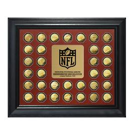 NFL Commemorative Team Logo Coin Collection