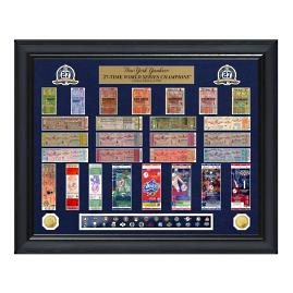 NY Yankees World Series Ticket Collection