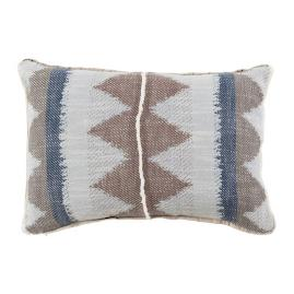 Adobe Danish Flange Decorative Pillow