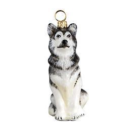Alaskan Malamute Ornament