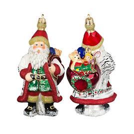 Galician Santa with Presents Ornament