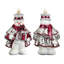 Tatra Snowman Ornament